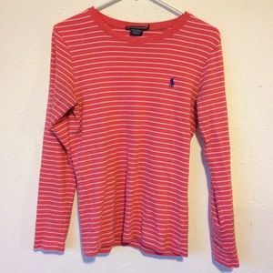 Lauren Ralph Lauren Plaid Sweatshirt Pullover Top